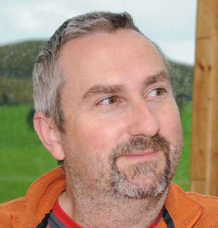 Head-shot showing SAMS fisheries ecologist Dr Clive Fox