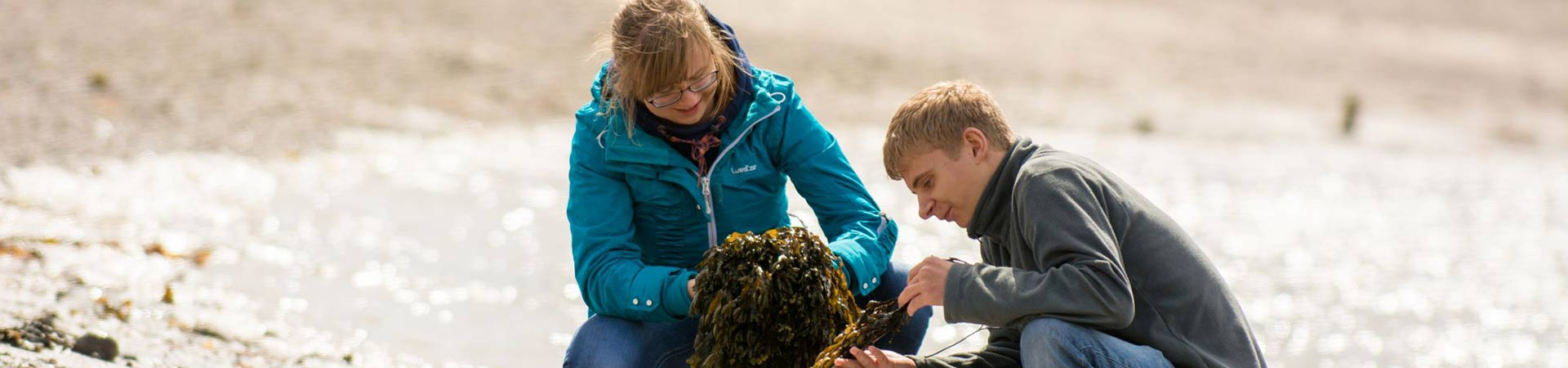 During an open day for prospective students and their families and friends our student ambassadors share their experience of studying marine science at SAMS UHI