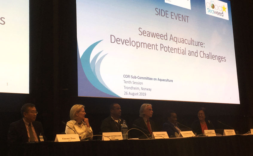 SAMS hosts Seaweed event at committee meeting of UN- Food and Agriculture Organisation
