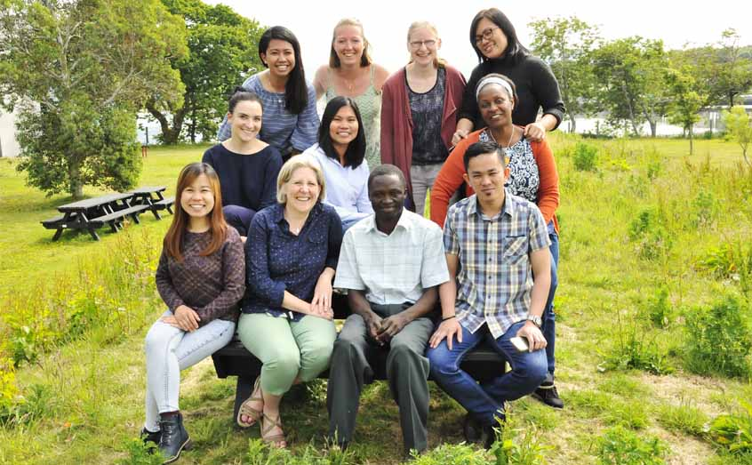 Scientists on the GlobalSeaweedSTAR project bid farewell to researchers from Tanzania, Indonesia and the Philippines, who studied at SAMS.