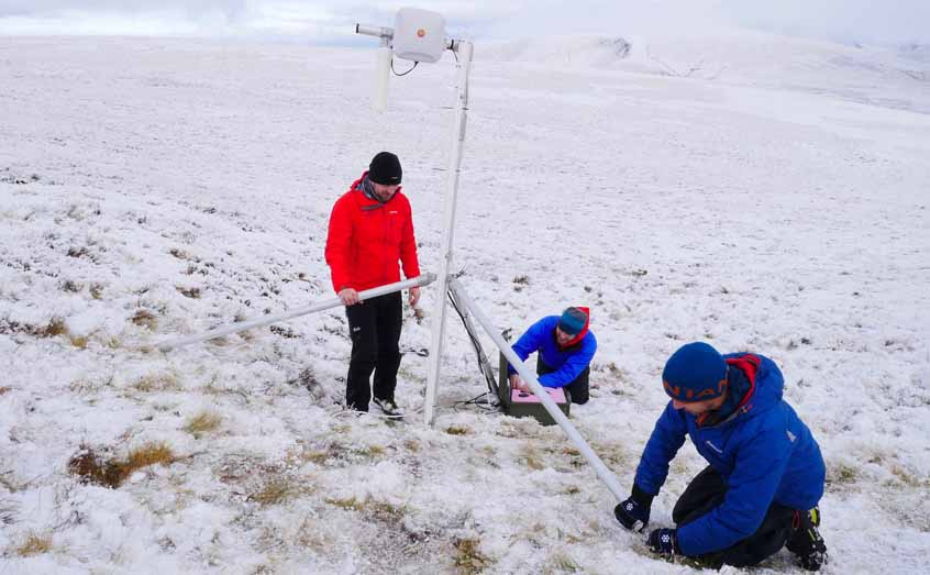 SAMS scientists deploy SIMBA technology in the Cairngorms