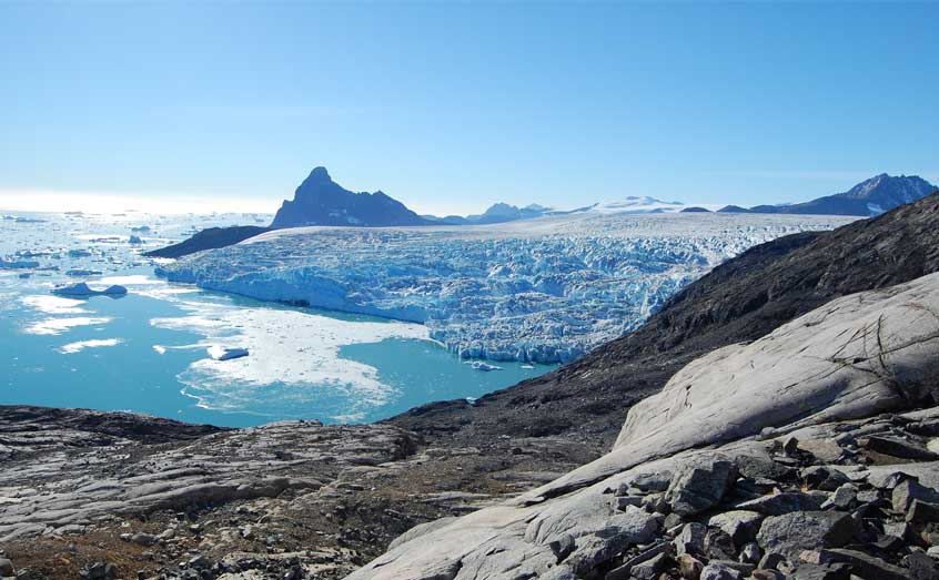 Greenland's glaciers are melting at an increasing rate