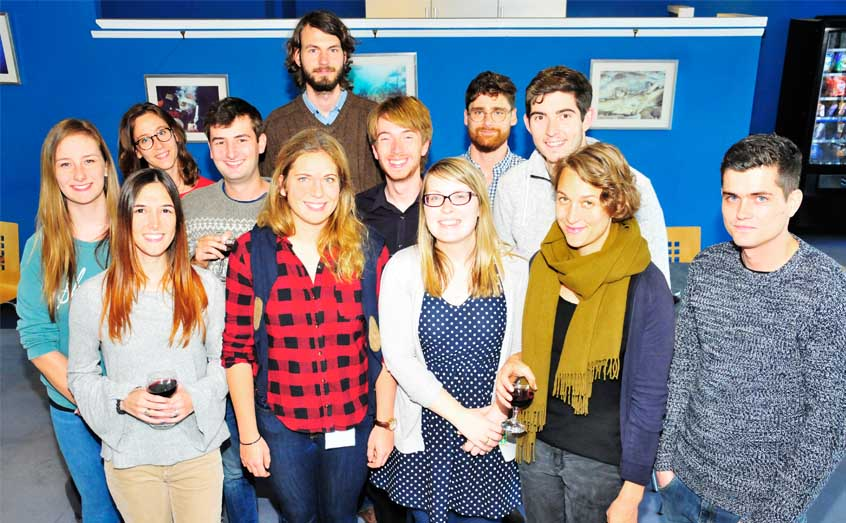 The new postgraduate students who joined SAMS UHI in October 2017