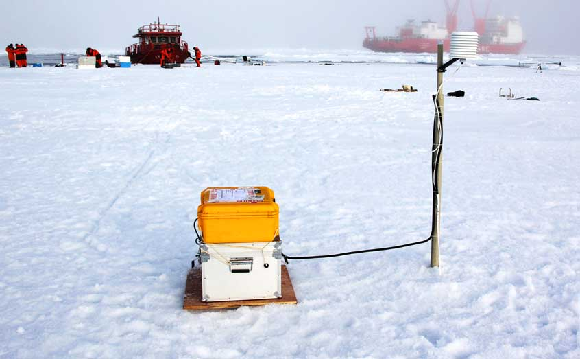 SIMBA units can withstand temperatures as low a -40 degrees Celsius, making them ideal for work in the Arctic.