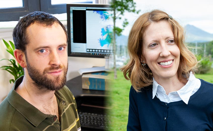 Drs Tom Adams and Lucie Novoveska have taken up posts as co-leaders (CoRALs) within the Dynamic Coasts and Blue Economy research areas, respectively.